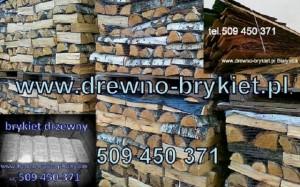 Drewno łupane na palecie
